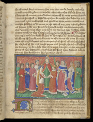 Marriage of the King of Sicily and Princess Sybil of Spain, in the 'Romance of the Three King's Sons'